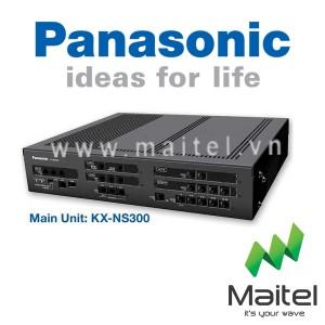 Tổng đài điện thoại Panasonic KX-NS300 - 6 vào 24 máy lẻ