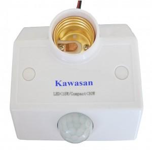 Đui đèn cảm ứng gắn tường Kawa SS682