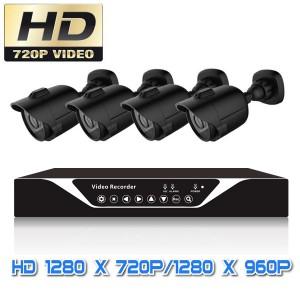 Bộ camera  AHD độ phân giải 1 Mp