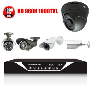 Bộ camera độ phân giải cao 1000TVL