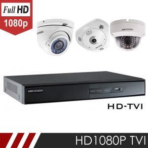 Bộ camera HDTVI – Turbo HD 1 Mp