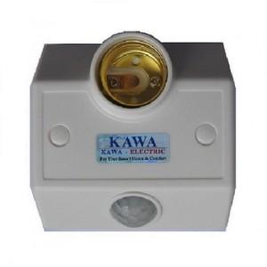 Đui đèn cảm ứng gắn tường Kawa SS681