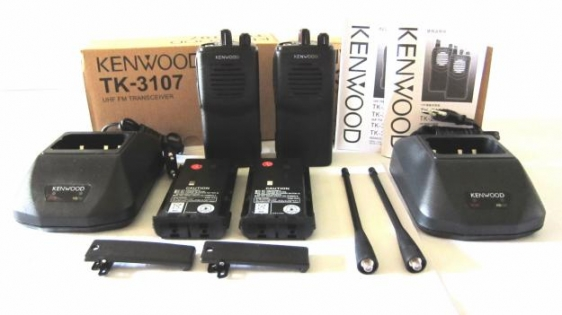 Bộ đàm cầm tay Kenwood TK 3107 Plus