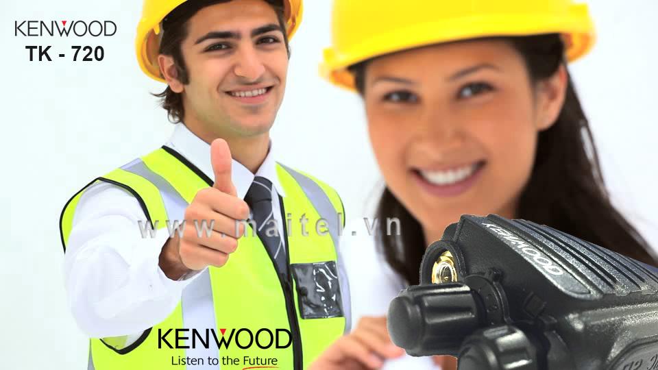 Bộ đàm cầm tay Kenwood TK 720