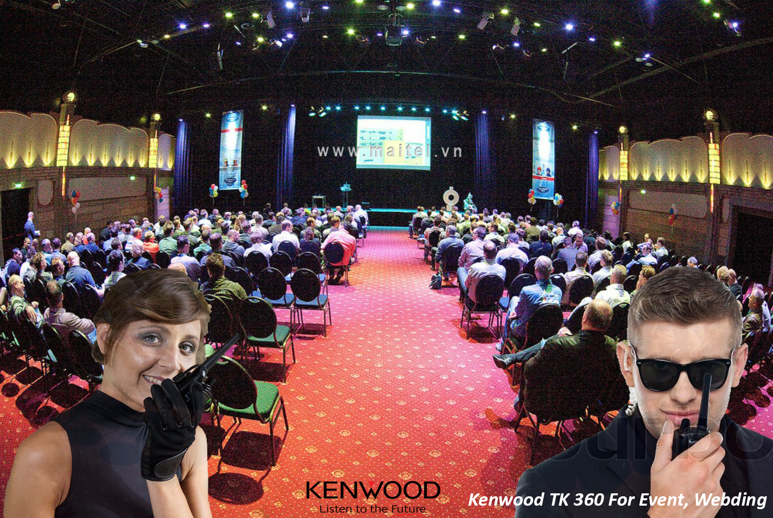 Bộ đàm cầm tay Kenwood TK 360