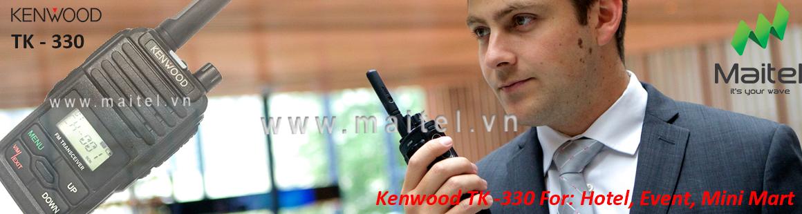 Bộ đàm cầm tay Kenwood TK 330