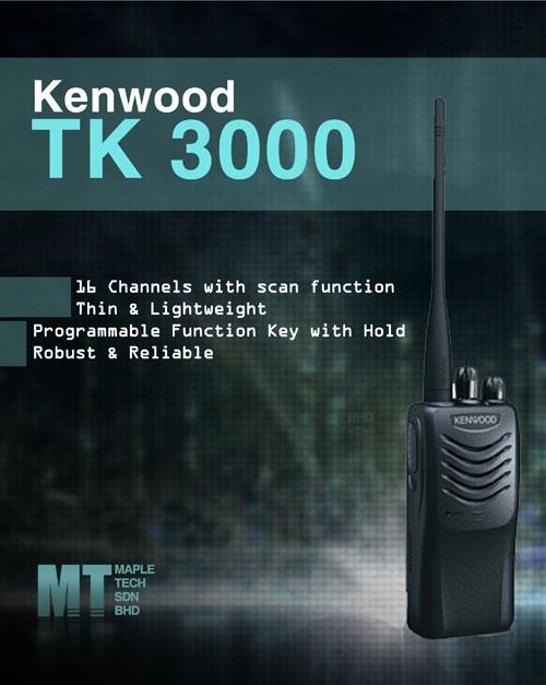 bộ đàm cầm tay TK 3000