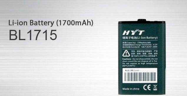 Pin bộ đàm HYT TC-320 / BL 1715