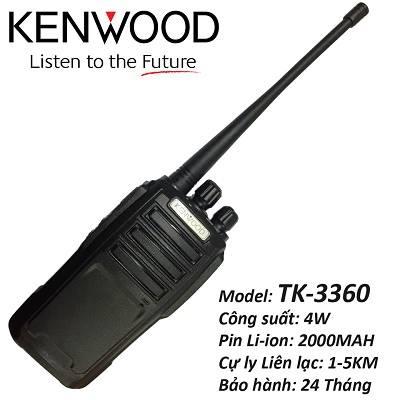 Bộ đàm cầm tay Kenwood TK 3360