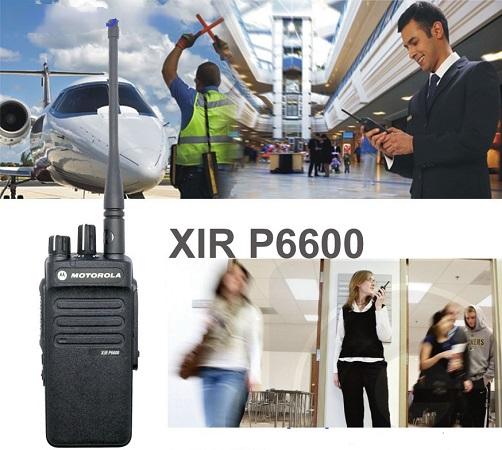 Bộ đàm XIR P6600 có chế độ tăng cường bảo mật riêng tư