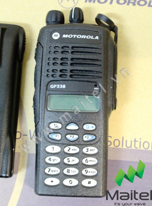 Bộ đàm cầm tay Motorola GP 338 UHF