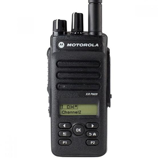Motorola Xir P6620 dùng Pin chống cháy nổ TIA4950, Lithium Ion 7,4V dung lượng 2900 mAh.