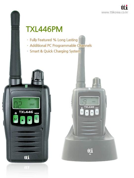 Bộ đàm cầm tay TTI TXL 446PM