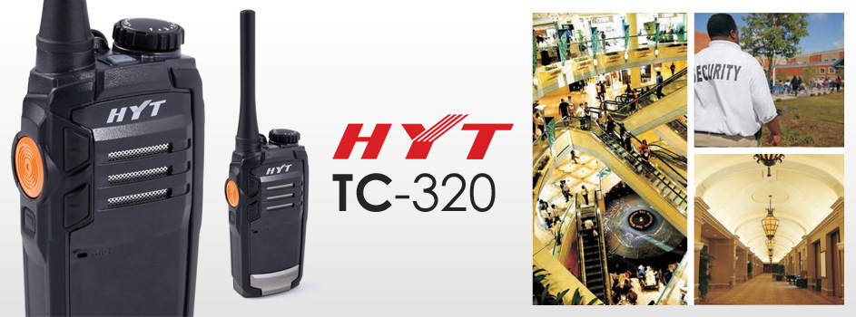 Bộ đàm cầm tay HYT TC 320