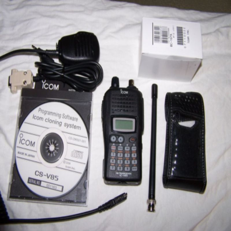 Bộ đàm cầm tay Icom IC V85