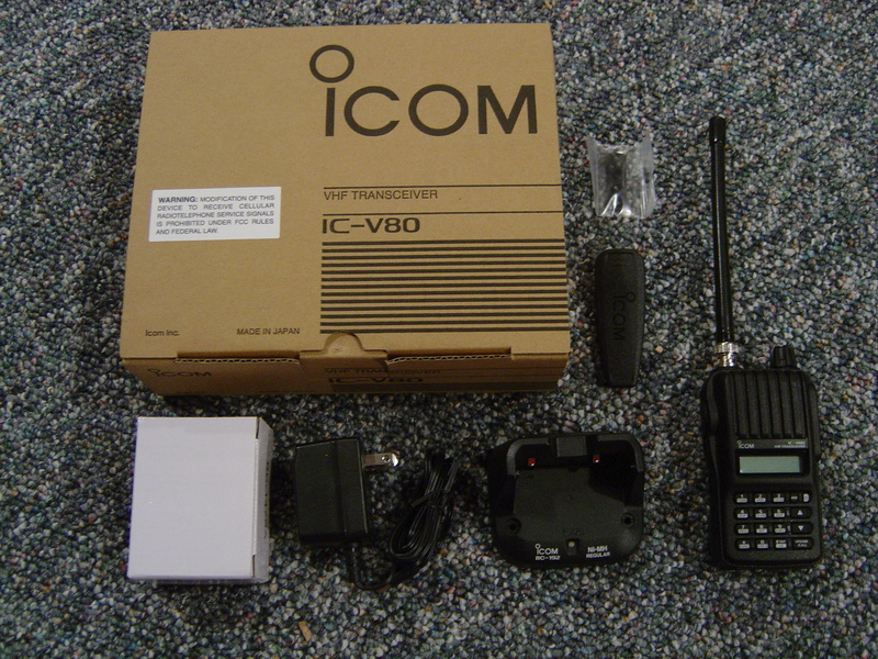 Bộ đàm cầm tay Icom IC V80