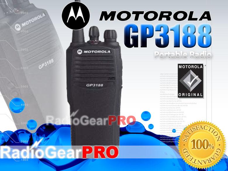 Bộ đàm cầm tay Motorola GP 3188