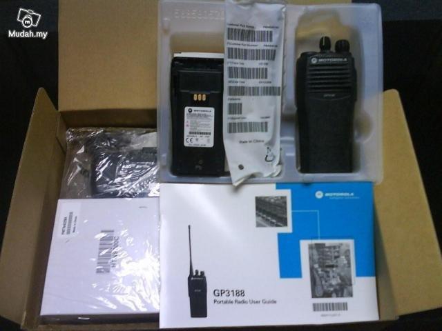 Đập hộp Bộ đàm cầm tay Motorola GP 3188