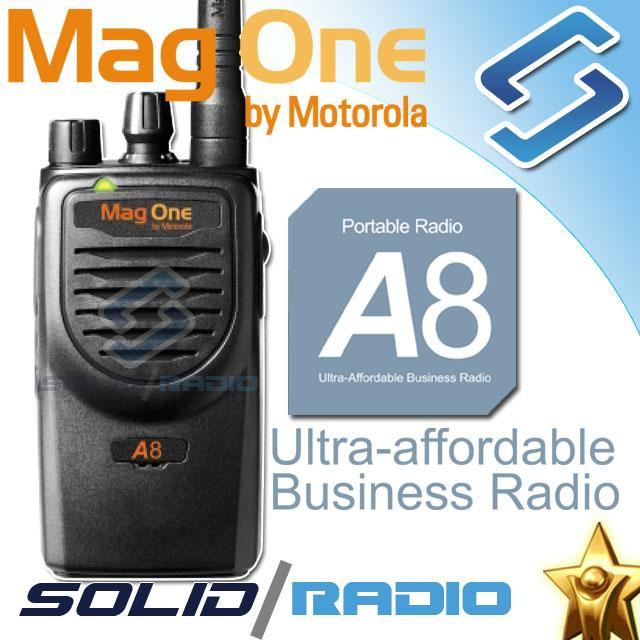 Máy bộ đàm cầm tay Motorola Mag One A8