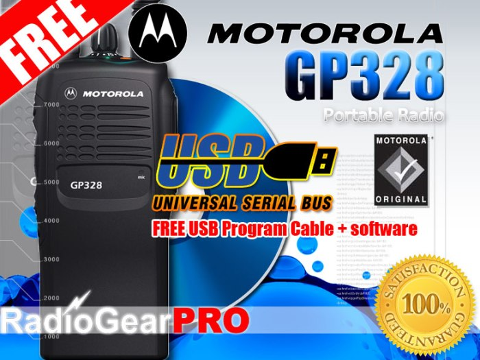 Bộ đàm cầm tay Motorola GP 328