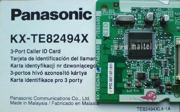 Card tổng đài hiện số KX-TE82494