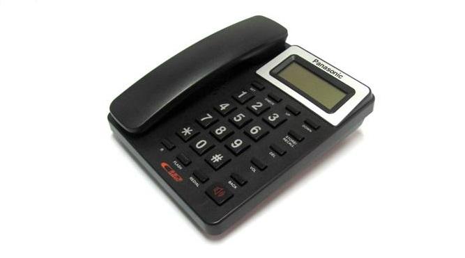Panasonic KX-T730CID hiển thị số gọi đến và gọi đi