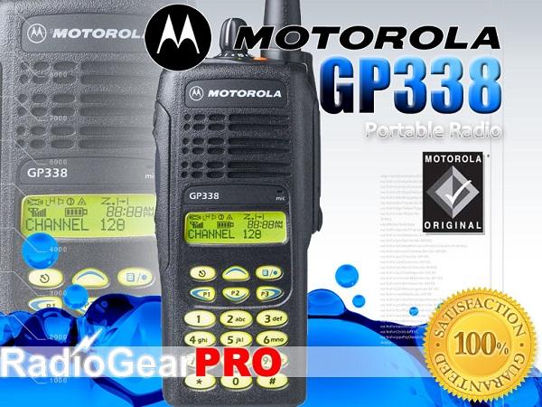 Bộ đàm cầm tay Motorola GP 338IS VHF