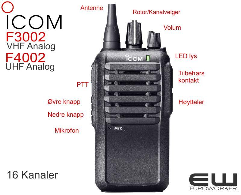 Bộ đàm cầm tay icom ic f4002