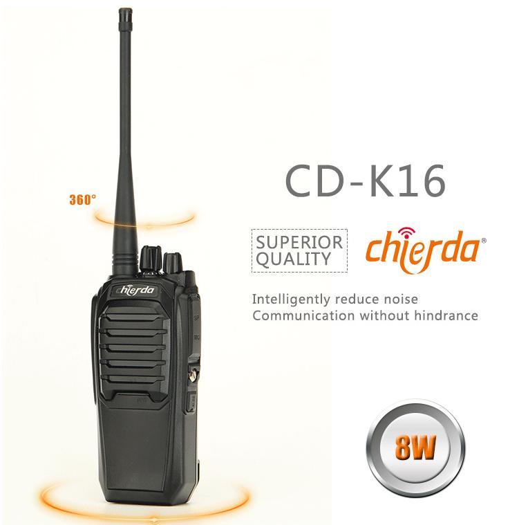 Bộ đàm cầm tay Chierda CD K16