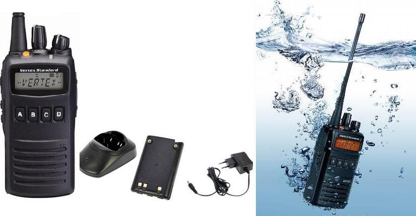 Bộ đàm cầm tay chống nước Vertex Standard VX 454