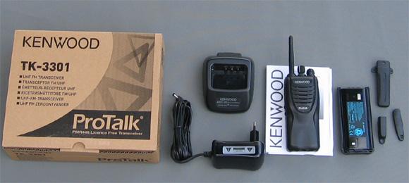 Bộ đàm cầm tay Kenwood TK 3301
