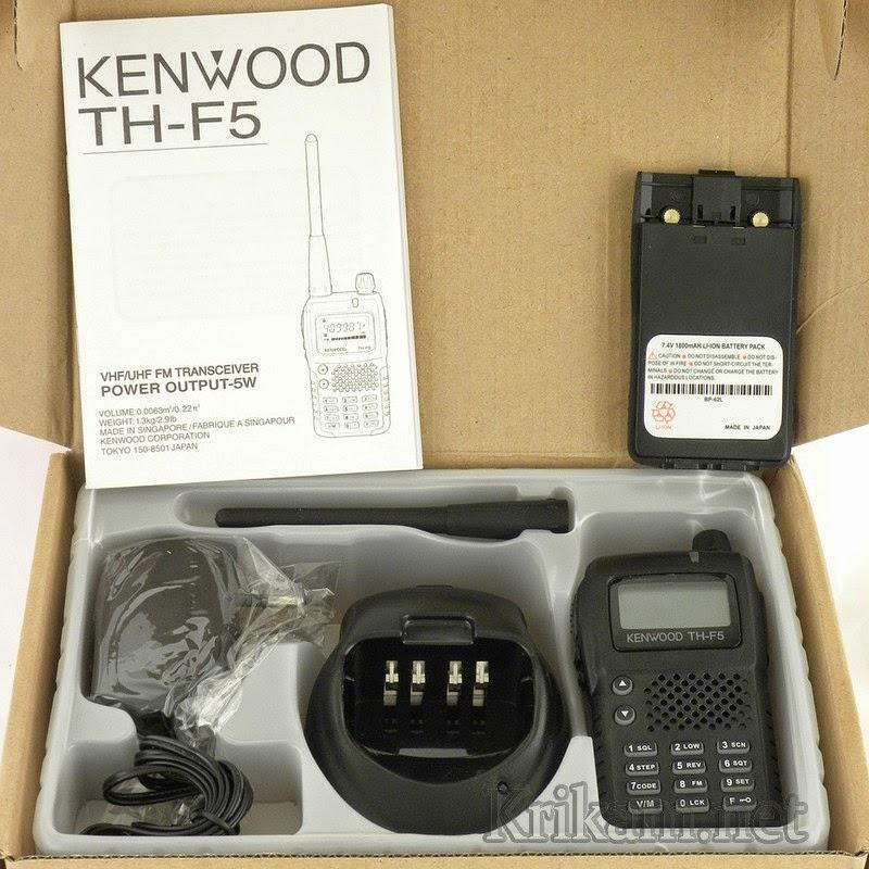 Bộ đàm cầm tay Kenwood TH F5