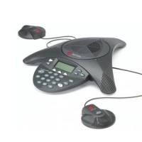 Điện thoại hội nghị Polycom soundstation 2 EX Có kèm 2 Mic mở rộng