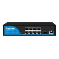Bộ chuyển đổi mạch Switch Gigabit Hasivo S1200P-8G-1TS