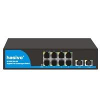 Bộ chuyển đổi mạch Switch Gigabit Hasivo S1200WP-8G-2G