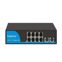 Bộ chuyển đổi mạch Switch Hasivo POE108GM