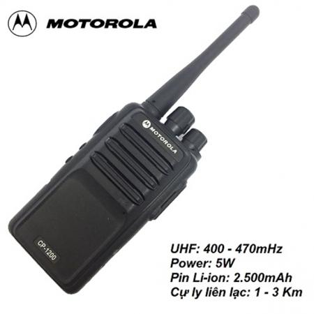 Bộ đàm Motorola CP 1200