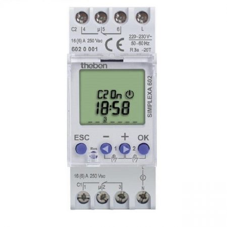 Công tắc thời gian TheBen Simplexa 601