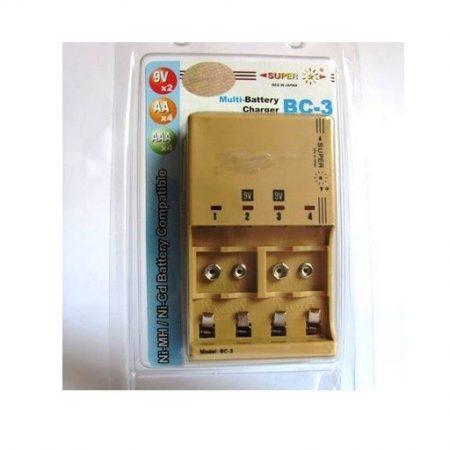 Bộ sạc pin 9V Super BC-3