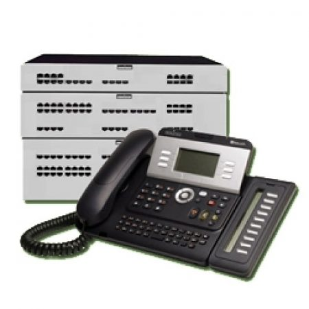 Tổng đài Alcatel-Lucent OmniPCX Office (OXO) (16CO-136Ext)