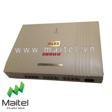 Tổng đài điện thoại Shoho TC-208 – 2 vào 8 máy lẻ