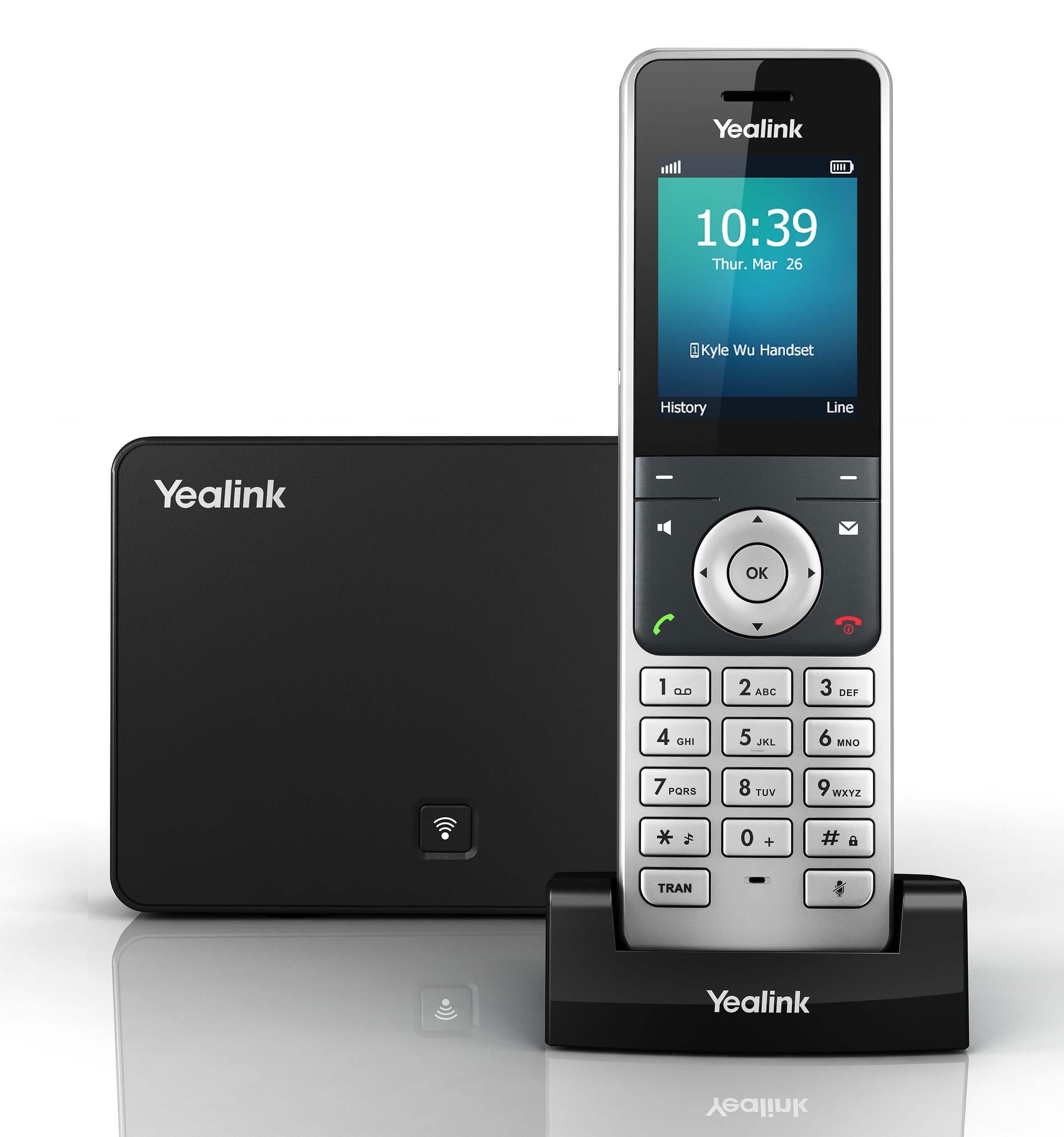 Điện Thoại bàn WiFi IP Yealink W56P