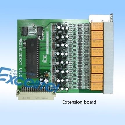 Card mở rộng CE8 cho tổng đài Excelltel CP1696