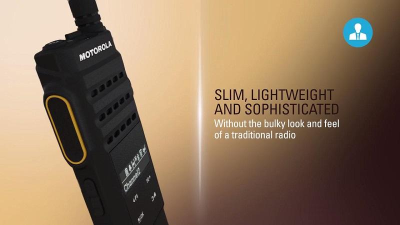 Mototrbo Xir SL2M Vận hành dễ dàng với các nút gạt & xoay.