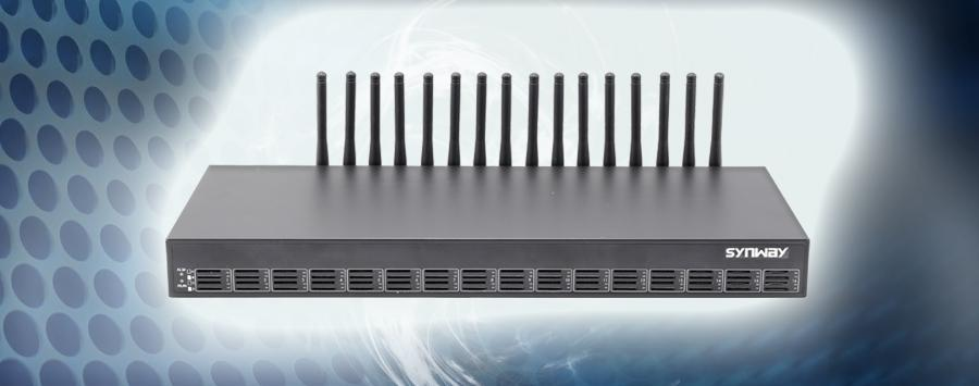 Thiết bị Gateway cắm 16 SIM Synway SMG4016-16LC